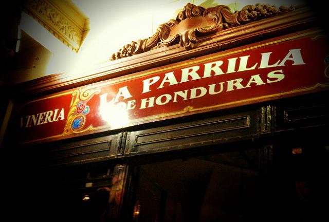 La Parilla de Honduras... fave restaurant